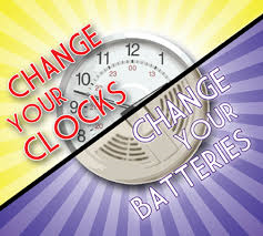 Clocks Back and Smoke Detectors Changed!!
